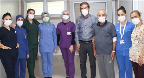 ANKA'da koronavirüsü yenip, yaşama yeniden tutundu