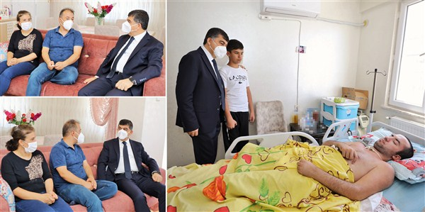 Başkan Fadıloğlu, 15 Temmuz Gazilerini Ziyaret Etti