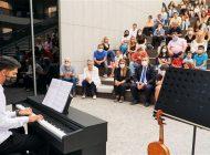 Piyano Dinletisi Büyük Beğeni Gördü