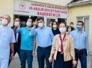 """Dr. Bakbak: """"Gaziantep'te Aşıda Toplamda 1 Miyon 600 Bini Aştık"""""""