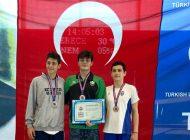 Paletli Yüzmede 2 Yeni Türkiye Rekoru