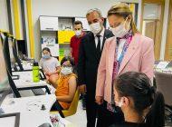 Dr. Bakbak Nuray-Tuncay Kara Bilim ve Sanat Merkezini Ziyaret Ettiaret Etti