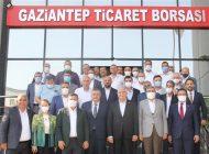 Ak Parti Gaziantep Milletvekillerinden GTB'ye Ziyaret