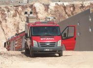 Gaziantep'te panel fabrikasında yangın çıktı