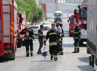 Gaziantep'te Tahıl Fabrikasında Çıkan Yangın Korkuttu!