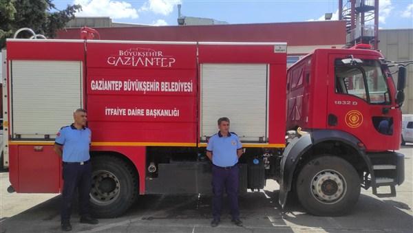 Gaziantep Büyükşehir'den Marmaris ve Bodrum'a Destek