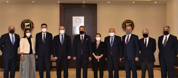 Gaziantep İl Emniyet Müdürü  Başbuğ'dan GSO'ya ziyaret
