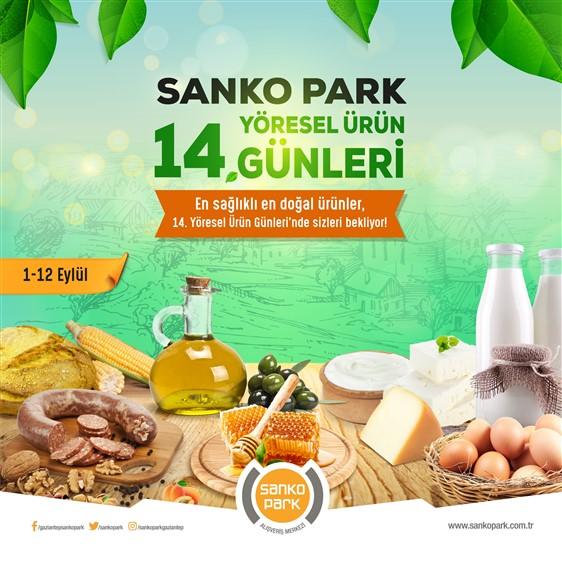 14' üncü yöresel ürün günleri SANKO Park'ta