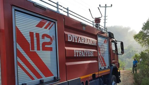 Diyarbakır itfaiyesi Alanya'da görev yapmaya başladı