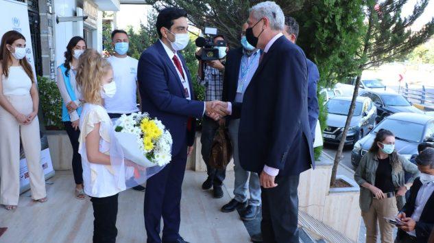 BMMYK Filippo Grandi Gaziantep Hukuk Kliniğini Ziyaret Etti