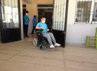 Başkan Şahin, Engelli Bireyin  Akülü Sandalye İsteğine Kayıtsız Kalmadı