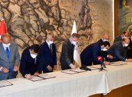Valilik koordinesinde Telekom ve belediyeler arasında  haberleşme İşbirliği Protokolü imzalandı