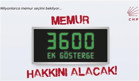 """CHP'li Uçar, """"Milyonlarca memur 3600 ek gösterge bekliyor"""""""