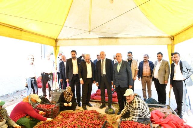 Erdoğan ilçe ziyaretlerine Nurdağı ile devam ediyor