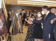 Romatizma tedavisi gören hastalardan resim sergisi