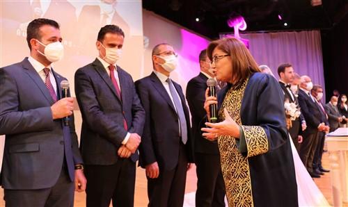 Oğuzeli Belediye Başkanı Kılıç'ın mutlu günü