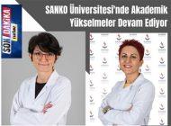 SANKO Üniversitesi'nde Akademik Yükselmeler Devam Ediyor