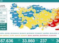 Son 24 saate korona virüsten 237 kişi hayatını kaybetti